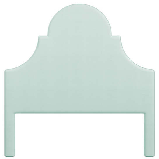 Estate Linen Powder Blue Montaigne Headboard