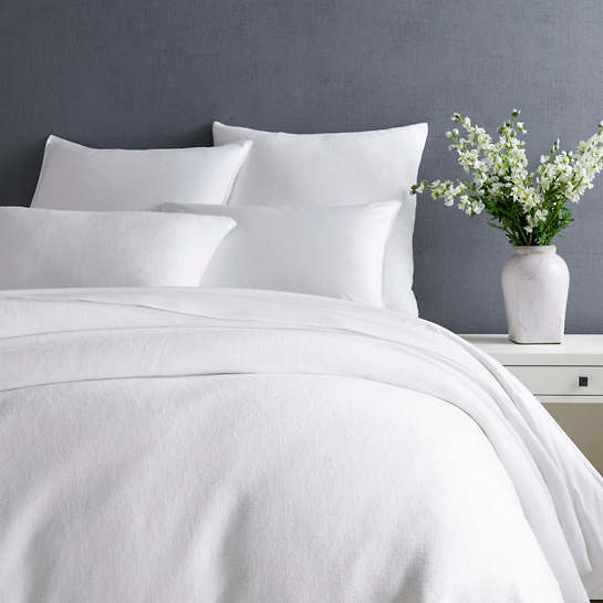 Montauk White Duvet Cover