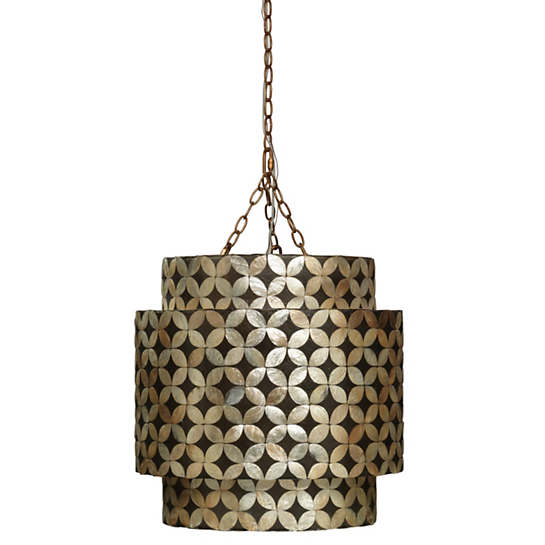 Moorish Tile Chandelier