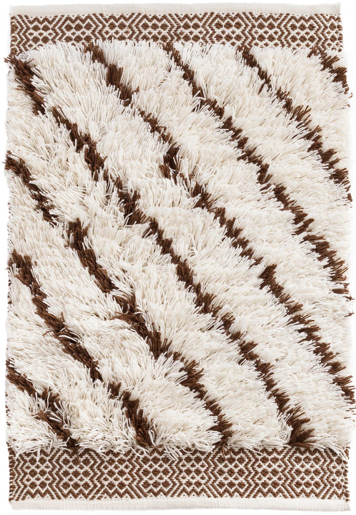 Moroccan Lines Brown Indoor/Outdoor Rug