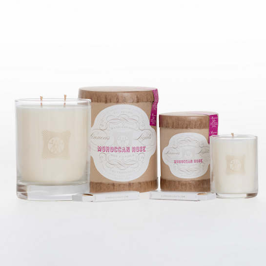 Linnea's Lights Moroccan Rose Candle