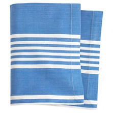Bistro Stripe French Blue Napkin