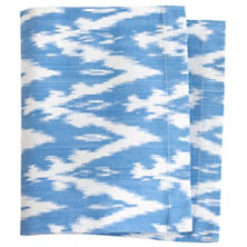 Ikat Woven French Blue Napkin