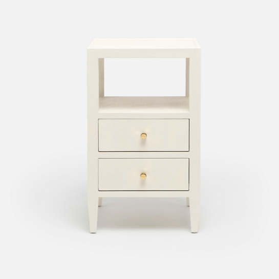 White Jarin Single Nightstand