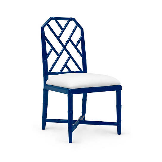 Navy Blue Chipper Side Chair