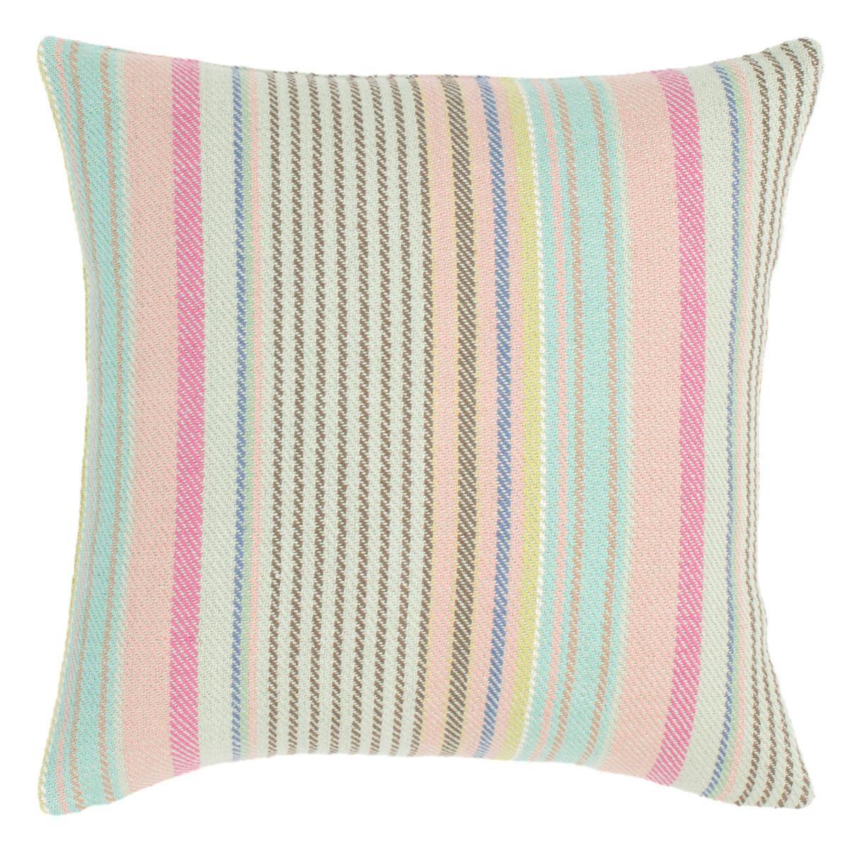 Neapolitan Woven Cotton Decorative Pillow