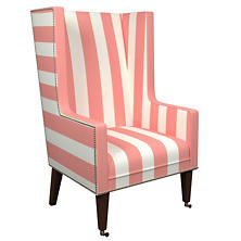 Alex Coral Neo-Wing Chair