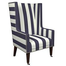 Alex Indigo Neo-Wing Chair