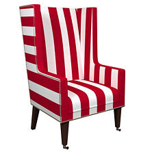 Alex Red Neo-Wing Chair