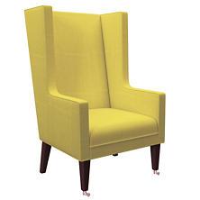 Estate Linen Citrus Neo-Wing Chair