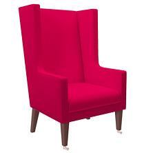 Estate Linen Fuchsia Neo-Wing Chair