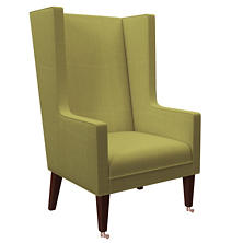Estate Linen Green Neo-Wing Chair