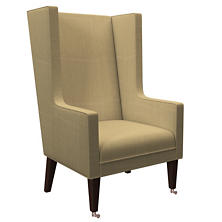 Estate Linen Wheat Neo-Wing Chair