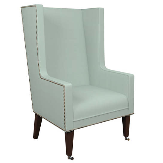 Estate Linen Powder Blue Neo-Wing Chair
