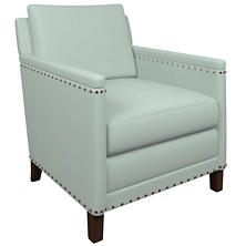 Estate Linen Powder Blue Ridgefield Chair