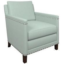 Estate Linen Powder Blue Ridgefield Chair