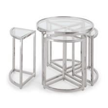 Nickel Austin Side Table Set
