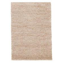 Niels Latte Woven Wool/Viscose Rug