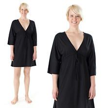 Ninda Black Nightdress