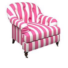Alex Fuchsia Norfolk Chair