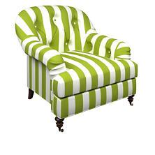 Alex Green Norfolk Chair