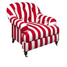 Alex Red Norfolk Chair