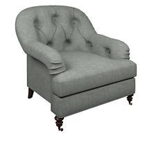 Canvasuede Ocean Norfolk Chair