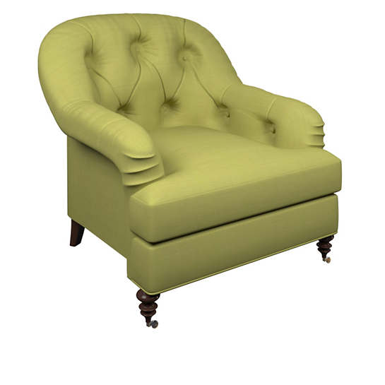 Estate Linen Green Norfolk Chair