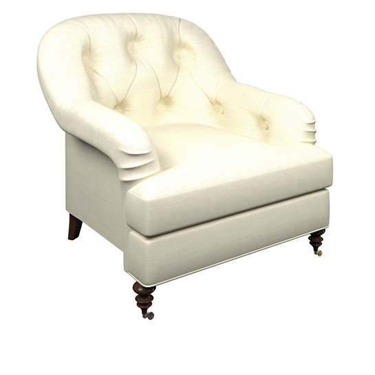 Estate Linen Ivory Norfolk Chair