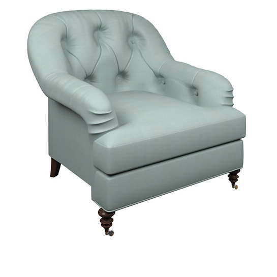 Estate Linen Sky Norfolk Chair