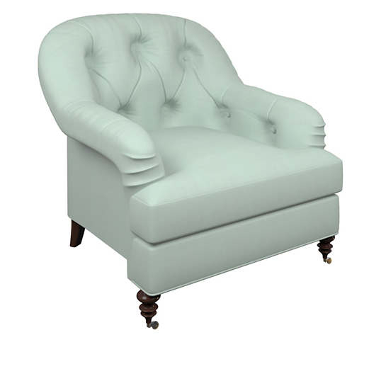 Estate Linen Powder Blue Norfolk Chair