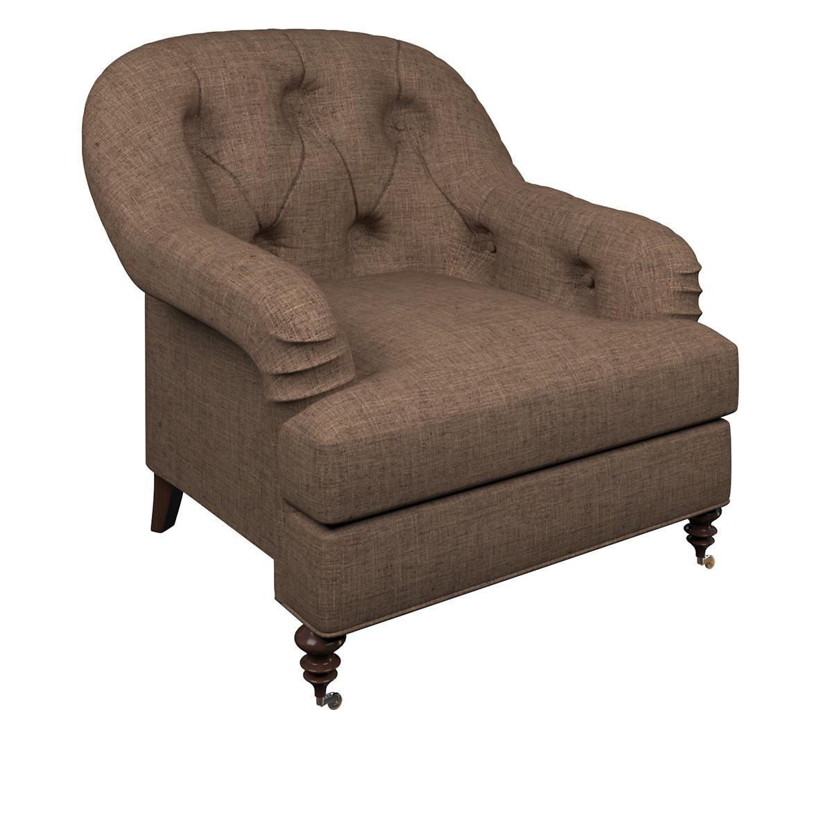 Greylock Brown Norfolk Chair