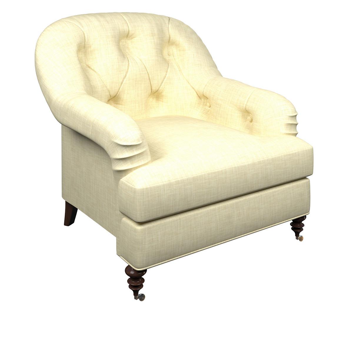 Greylock Ivory Norfolk Chair