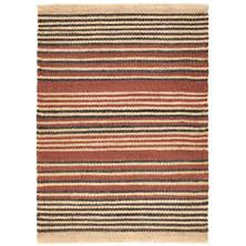 Nox Stripe  Woven Jute Rug