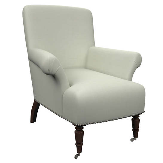 Nubby Mist Barrington Chair