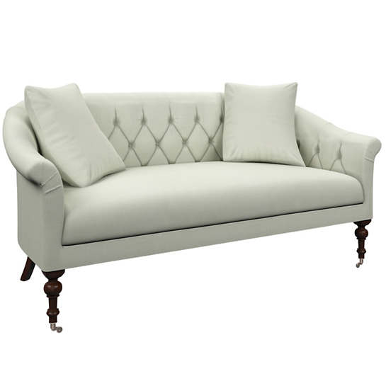 Nubby Mist Becket Loveseat