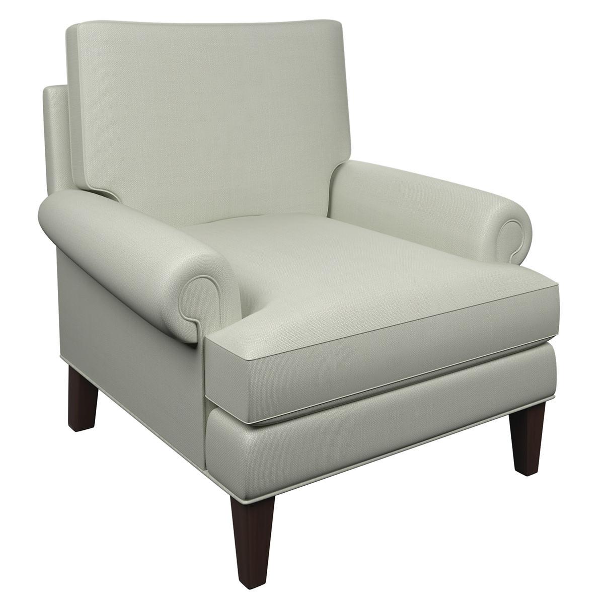 Nubby Mist Easton Chair