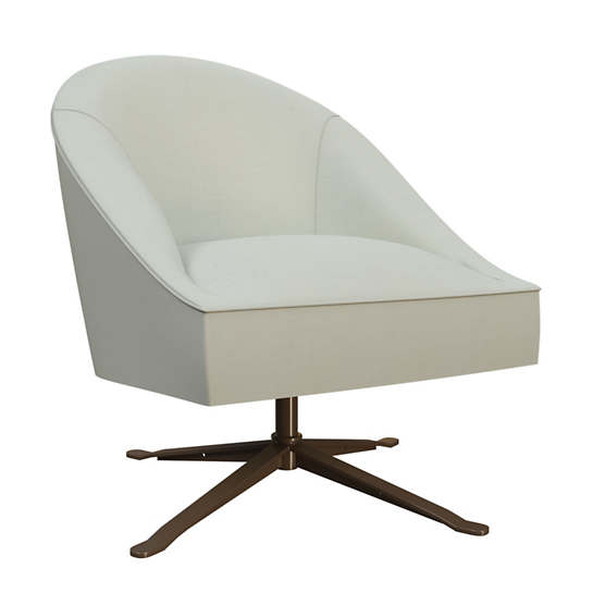 Nubby Mist Embrace Chair