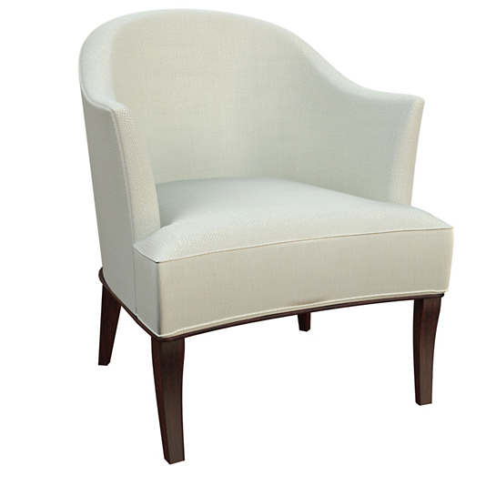 Nubby Mist Lyon Chair