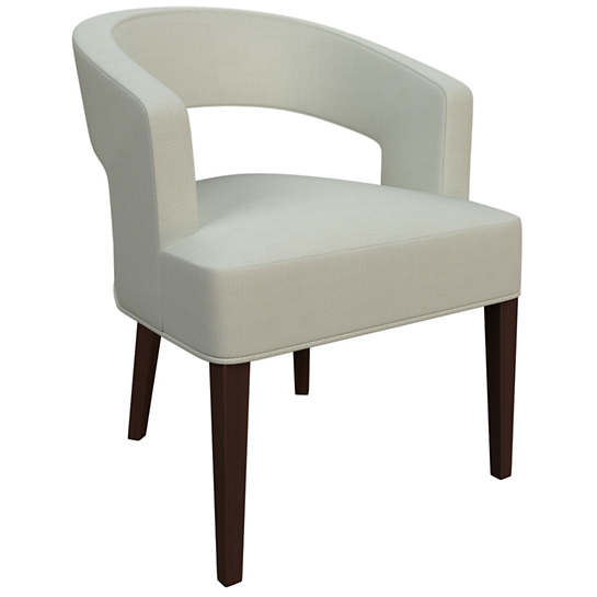 Nubby Mist Wright Chair