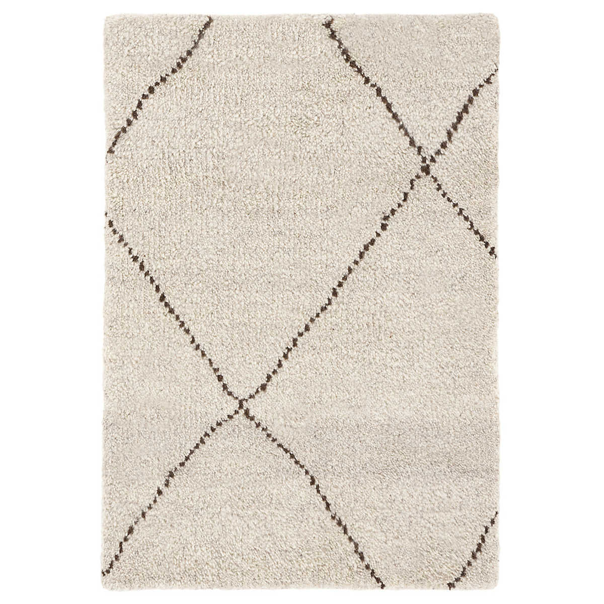 Numa Charcoal Hand Knotted Rug Dash Albert
