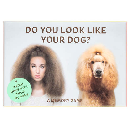 Do You Look Like Your Dog? Match Dogs With Their Humans: A Memory Game