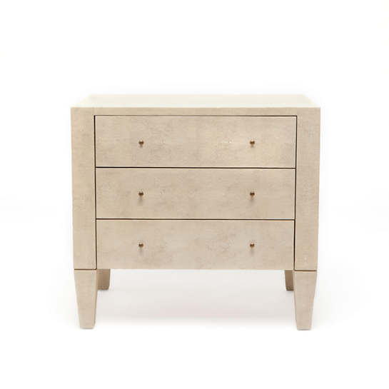 Exceptionnel Off White Sorin Double Nightstand