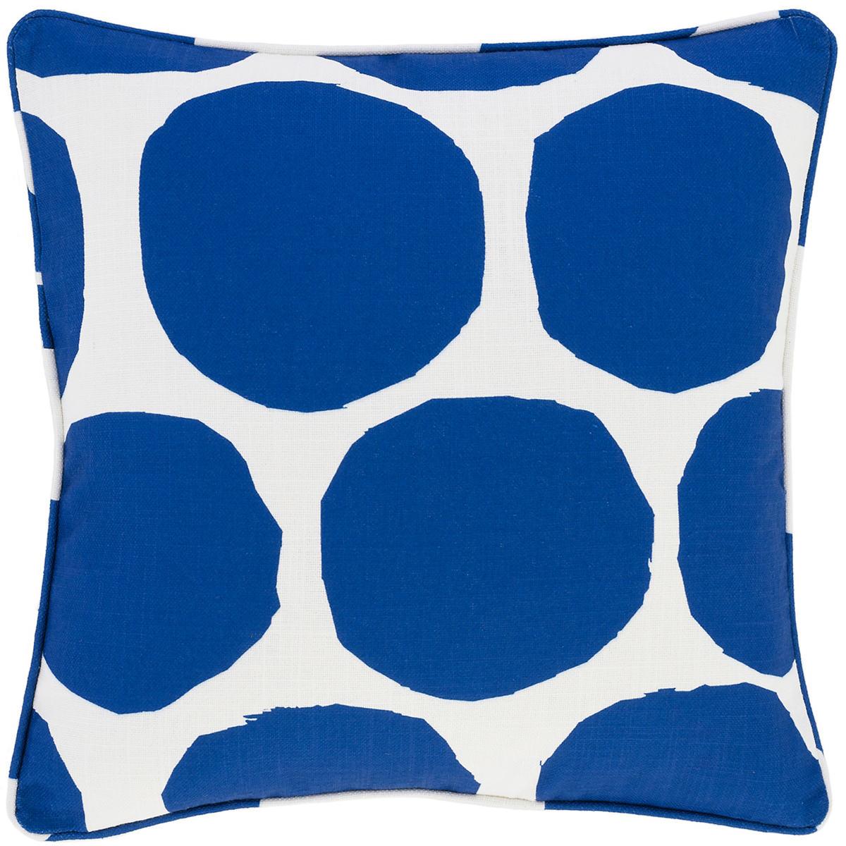 On The Spot Cobalt Indoor/Outdoor Decorative Pillow
