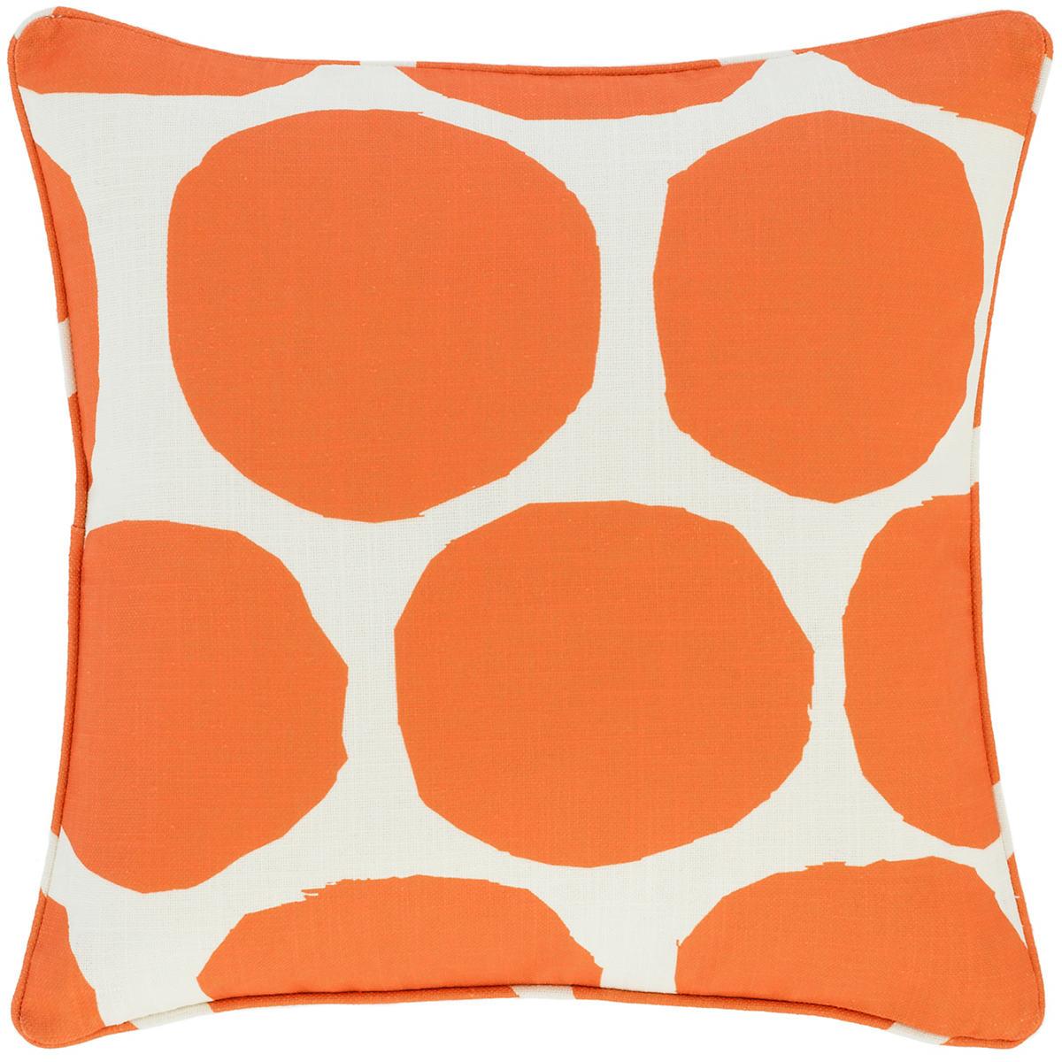 On The Spot Orange Indoor/Outdoor Decorative Pillow