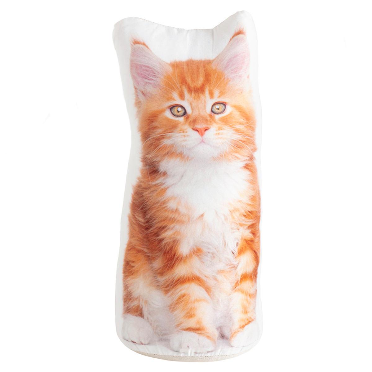 Orange Tabby Cat Doorstop