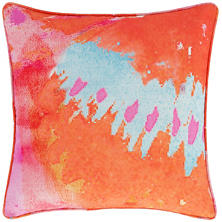 Orange Tip Indoor/Outdoor Decorative Pillow