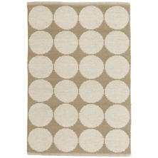 Orbit Natural Wool Woven Rug
