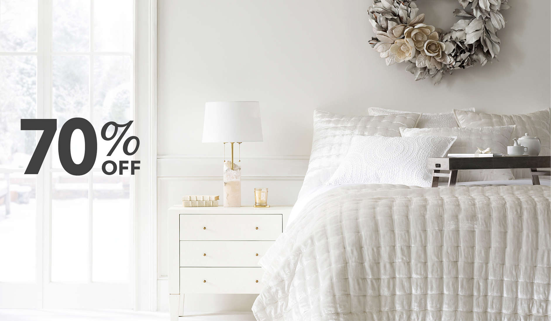 Up to 70% Off Bedding