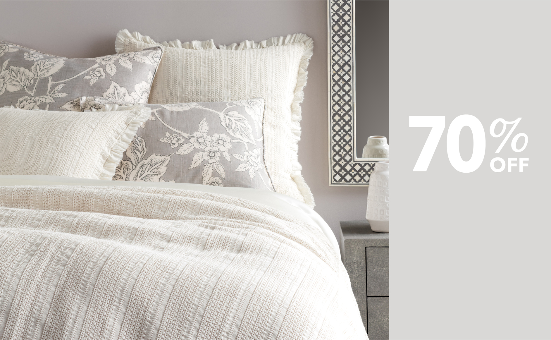 Up to 80% Off Sale Luxury Bedding